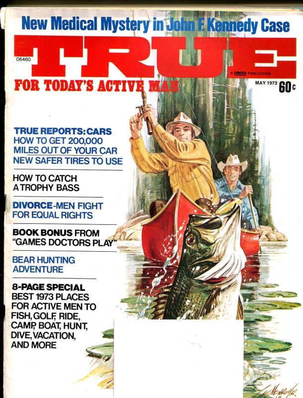 True 5/1973-Fawcett-JFK Medical Mystery!-adventure fiction-VG