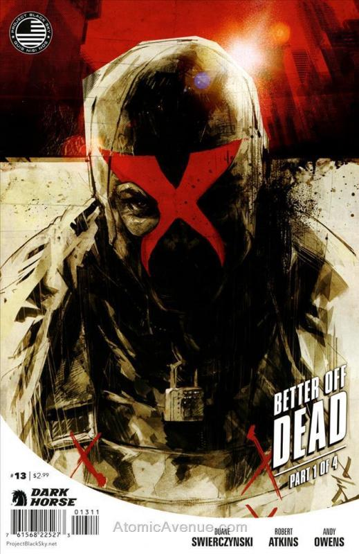 X (2nd Series) #13 VF/NM; Dark Horse | save on shipping - details inside