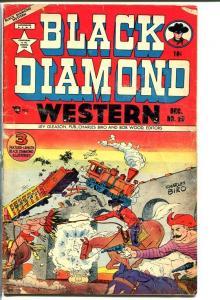 BLACK DIAMOND WESTERN #29-Train accident cover! G