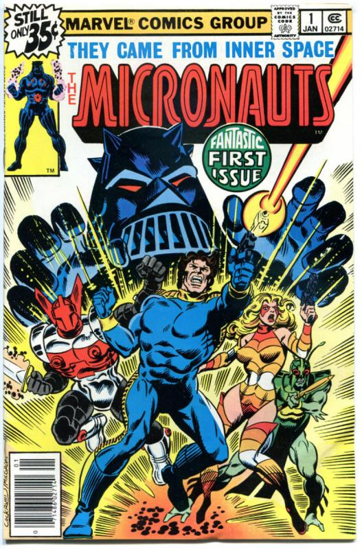 MICRONAUTS #1 2 3 4 5 6 7 8 9 10-59 + Annual #2, VF/NM, 1979, Microverse, 60 iss
