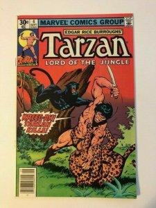 Marvel #4 TARZAN Lord of the Jungle 1977 FINE/VERY FINE (SIC032)