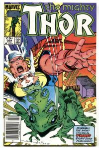 Thor #364 Newsstand variant 1983-First Frog THOR-Marvel NM-