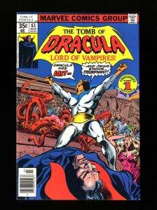 Tomb Of Dracula #63 NM 9.4