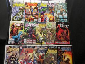 Avengers (2000s titles) 34 diff Busiek Perez Bendis Bagley Cho Ellis Maleev