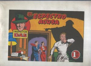 Inspector Dan facsimil numero 29: El espectro acusa
