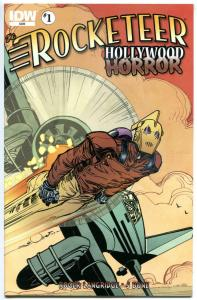 ROCKETEER Hollywood Horror #1 2 3 4, NM, Dave Stevens, Bettie Page, 2013, Set, A