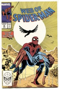 Web Of Spider-man #45 1988- Vulture NM
