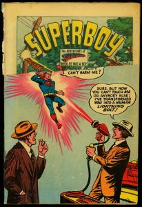 Adventure Comics #194 1953- Superboy- Green Arrow- Aquaman FAIR