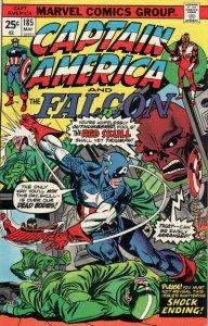 Captain America #185 (ungraded) stock photo