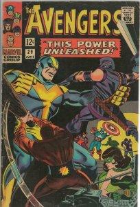 Avengers #29 ORIGINAL Vintage 1966 Marvel Comics Goliath