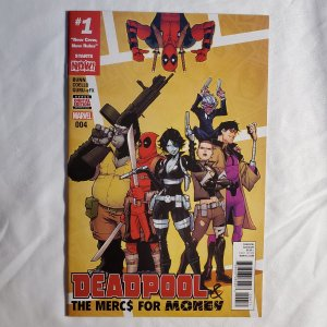 Deadpool and the Mercs for Money 4 Very Fine/Near Mint Cover by Iban Coello