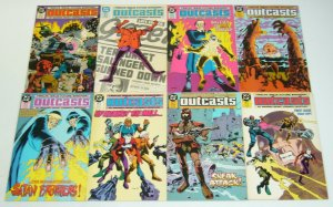 Outcasts #1-12 VF/NM complete series - alan grant - john wagner - euthanasia set