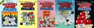 MAXWELL MOUSE FOLLIES 1-5  FUNNY ANIMALS GALORE! COMICS BOOK