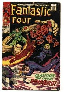 FANTASTIC FOUR #63 1967-SILVER SURFER comic book VG