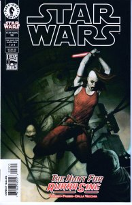 Star Wars - Republic # 28,29,30,31 The Hunt for Aurra Sing