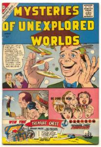 Mysteries Of Unexplored Worlds #22 1960- DITKO cover VG/F