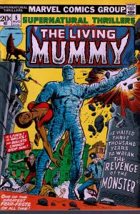 Supernatural Thrillers #5 - 1st Living Mummy - 1973