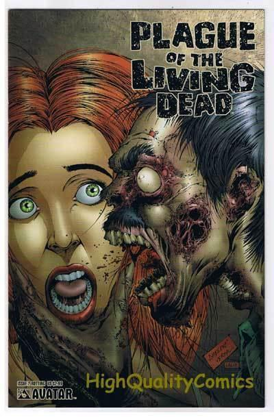 PLAGUE of the LIVING DEAD #2, NM-, Zombies, Rotting, 2007, more Horror in store