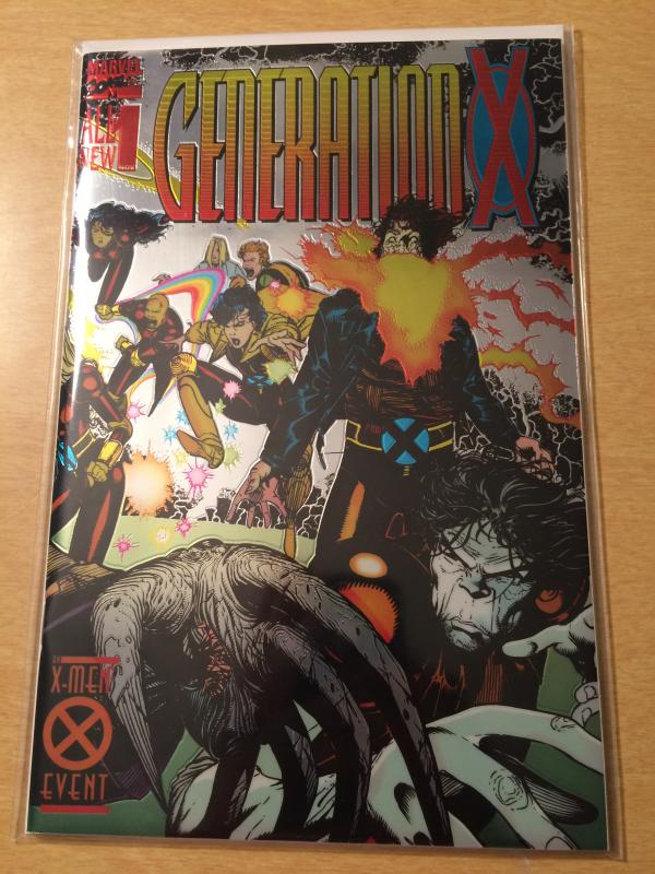 Generation X #1 Metallic/Reflective cover