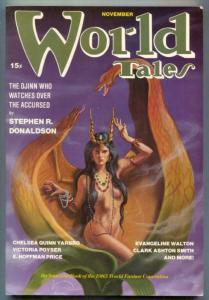 World Tales Pulp November 1985- World Fantasy Convention VF