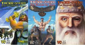 THORR SVERD THE SWORD OF THOR (VC) 1(2ND PR),2-3