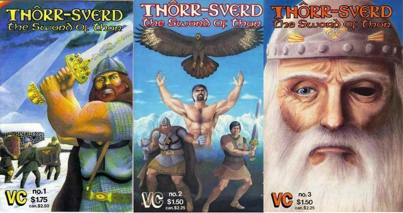 THORR SVERD THE SWORD OF THOR (VC) 1(2ND PR),2-3