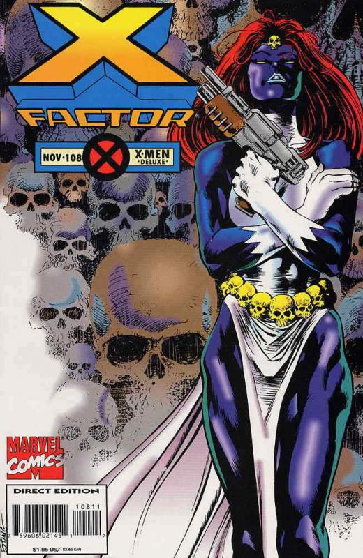 X-Factor #108 Deluxe VF/NM; Marvel | save on shipping - details inside