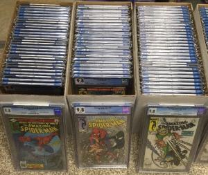 Amazing Spider-man 200-500 Vol 2 1-58 All Cgc 9.8 238 252 298 299 300 301 361 36