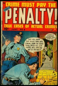 Crime Must Pay the Penalty #8 1949- Transvestism- Golden Age VG