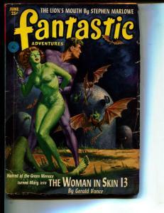 Fantastic Adventures-Pulp-6l/1952-Paul W. Fairman-Stephen Marlowe