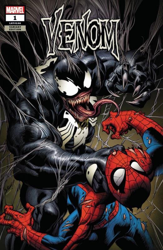 Venom #1 Bagley Cover A Trade Dress Sonny's Comics Edition