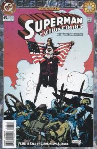 DC ACTION COMICS (1938 Series) Annual #6 VF/NM