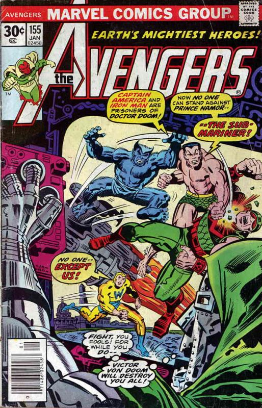 Avengers, The #155 VF/NM Marvel - save on shipping - details inside
