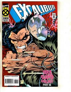 10 Excalibur Deluxe Marvel Comics # 85 86 87 88 90 91 92 94 95 97 98 99 JF26
