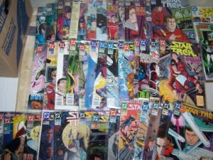 Star Trek  lot of 66 comics # 06-79  +ANNUALS (1990, DC) SPOCK KIRK SULU MCCOY