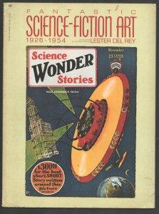 Fantastic Science-Fiction Art 1975-Ballantine-1st Printing-Pulp magazine cove...
