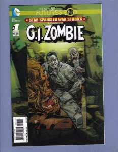 Star Spangled War Stories Futures End #1 3-D Cover NM G.I. Zombie DC 2014