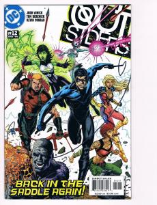 Outsiders # 12 DC Comic Books Awesome Issue Modern Age NIghtwing Metamorpho! S24