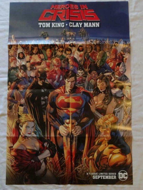 Superman #1 DC Comics Poster 24 X 36