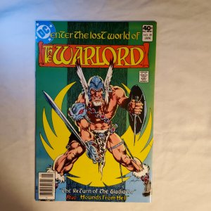 Warlord 29 Very Fine+ Cover by Mike Grell