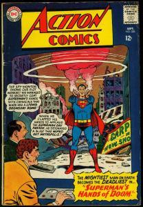 Action Comics #328 1965- Superman- Hands of Doom silver age VG