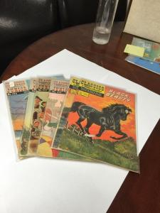 Classics Illustrated 60 138 Junior 514 517 519 524 545 All Vg 4.0 Or Better