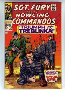 Sgt. Fury and His Howling Commandos #52 (Mar-68) NM- Mid-High-Grade Sgt. Fury...