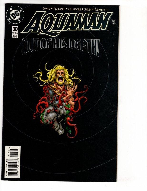 AQUAMAN #30 (9.0-9.2) 1¢ Auction! No Resv! See More!!!