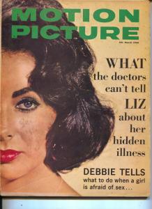 Motion Picture-Liz Taylor-Elvis Presley-Frankie Avalon-James Darren-March-1960