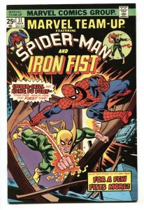 Marvel Team-up #31 1975 Spider-Man and IRON FIST VF/NM