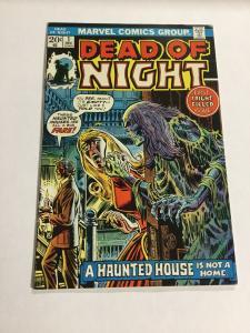 Dead Of Night 1 Vf Very Fine 8.0 Marvel Comics