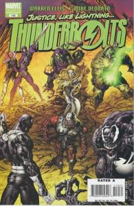 Thunderbolts #110 (2nd) VF/NM; Marvel | save on shipping - details inside