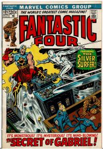 Fantastic Four #121, 5.0 or Better *KEY* Death of Air-Walker