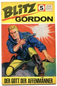 Blitz Gordon #5- Foreign comic- Mandrake- Al Williamson FN